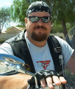 Science Fiction Author Biker Nerd Tom Tinney